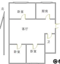 峄化小区3室2厅1卫37万元