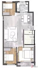 东盛山庄3室2厅1卫61.5万元