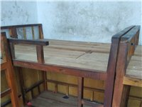 出售幼兒園實木上下鋪床,結實耐用