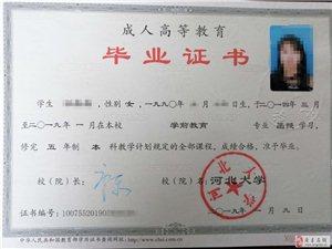 2019年河北大學成人高考開始報名了