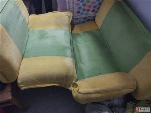 2个二手休闲沙发便宜出售