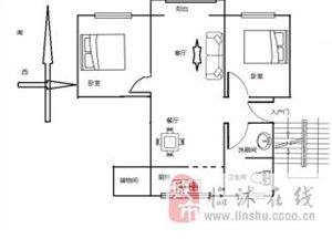 常林公寓2室2�d1�l20�f元