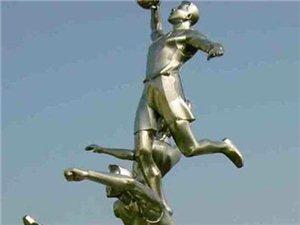 保定滿城不銹鋼雕塑抗日英雄人物雕塑