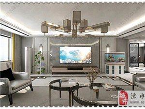 淶水裝修設計公司二十里鋪自建別墅新中式輕奢風格裝修