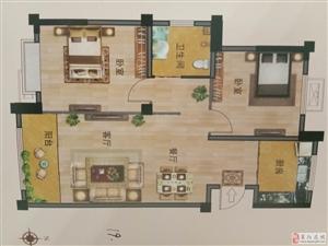 威德广场93平3居一手房手续44.5万元