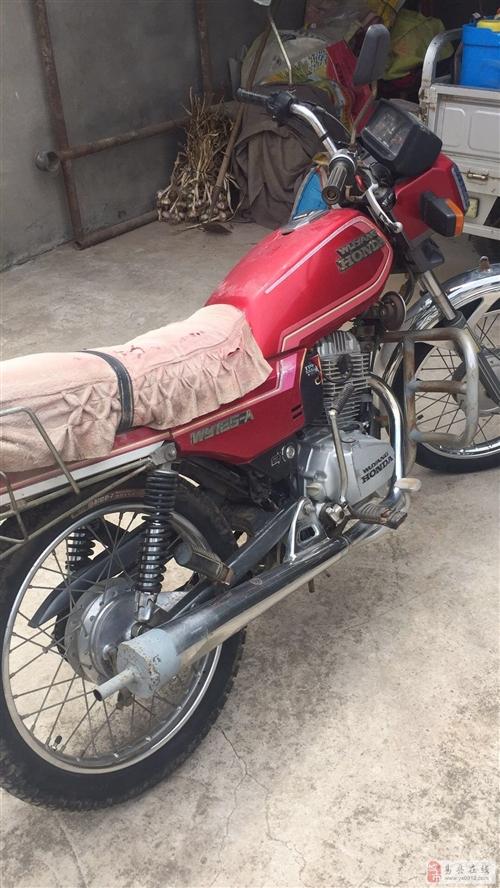 出售:本田五羊125摩托車