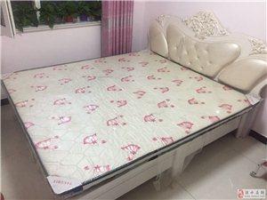 二手双人床带床垫