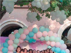 集花艺气球场景美陈与专业派对策划于一身的培训