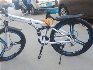 宝马牌变速折叠自行车出售