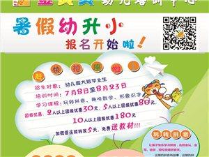 沂水县金贝贝魔耳培训学校幼小衔接暑假班开始报名啦!
