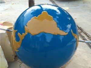保定校園不銹鋼雕塑定制地球儀雕塑