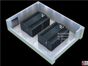 四川机房效果图设计_某税务局数据储备机房效果图方案
