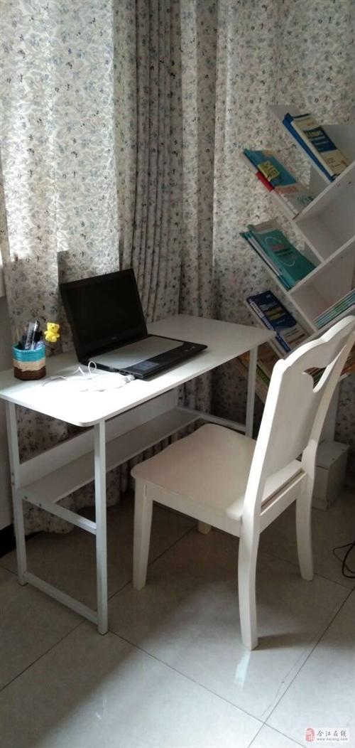 书桌加书架出售