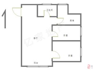 邹城碧桂园2室2厅1卫74万元