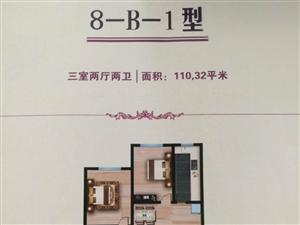 富强小区3室2厅2卫100万元