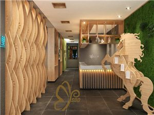 重慶武隆餐吧餐廳茶餐廳茶樓裝修設計品牌公司貳春設計