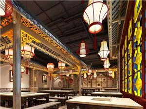 复古餐厅装饰