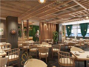 甘肃酒泉餐吧餐厅茶餐厅茶楼装修设计品牌公司贰春设计