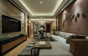 香格里拉港式两居室 造价8万元(含装饰)