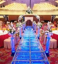 独特的婚礼现场