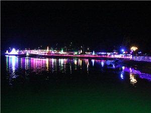 建水巴甸灯海每晚19点至23点等您来欣赏美丽的灯海