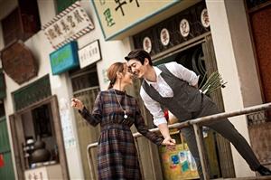 韩式,街拍,海景