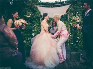 同性婚礼图片 爱与性别无关