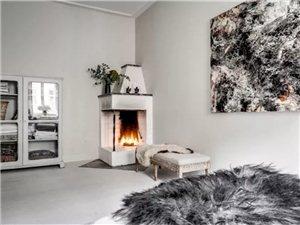 北欧风格76平两室公寓 新旧的强烈碰撞