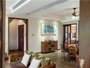 三室两厅新中式风格设计