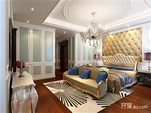 威宁装修360平欧式风格别墅厨房装修效果图