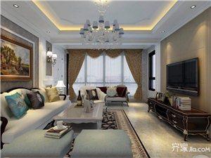 103平欧式风格三居卧室装修效果图――威宁装修网
