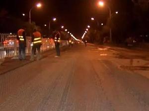 国道102线这段全长17.33公里的中修工程要完工了!!