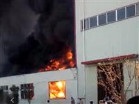 莱西姜山镇橡六胶管有限公司三月三十一?#25214;?#26087;厂房发生火灾