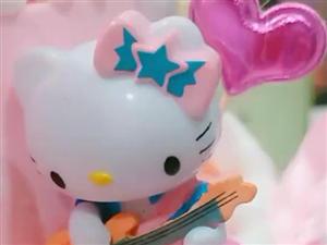 卡通动漫HelloKitty蛋糕
