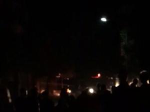毛家镇建设酒厂发生火灾