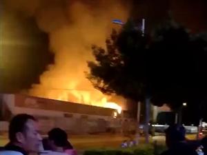 【突发】滨州一快递公司仓库着火,赶快查查你的快递吧!