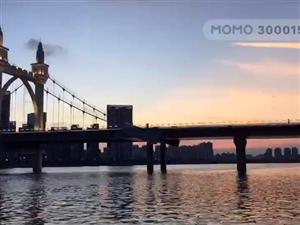 前山河白石桥美景