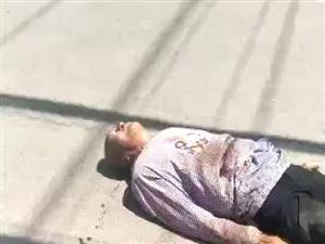 滨州一老人在黄二渤三路口出车祸,急寻家属!