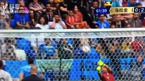 #俄罗斯世界杯#【法国2-0乌拉圭】来自乌拉圭门将穆斯莱拉的黄油手!
