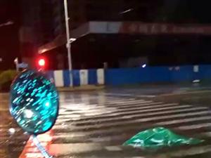 齐齐哈尔昨夜的一场大雨后