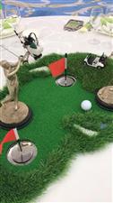 绿动高尔夫-珠海度假村酒店餐饮部创意摆台比赛