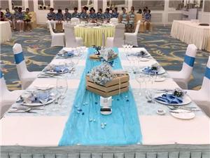 梦想蓝天-珠海度假村酒店餐饮部创意摆台比赛