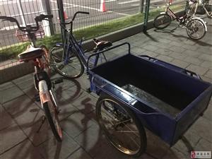 """共享单车给三轮车""""劫持"""""""