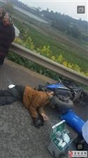 牛佛镇发生一起交通事故,一男子当场身亡