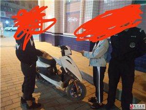 偷摩托车全程只要一分钟