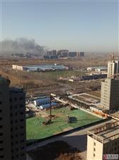 建筑工地失火