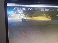 夜晚,仁寿城区摄像探头拍下了这可耻的一幕!!
