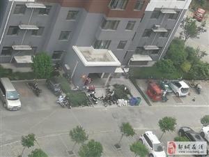 唐王湖小区物业不作为,私人车位被大量电动车占总不采取措施