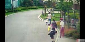依云小镇内一对年轻夫妇当着自己两个小孩和老母亲的面偷其他小朋友的玩具车