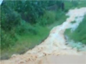 6月10�田心大暴雨